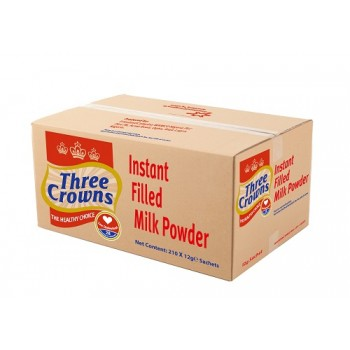 Three crown sachet milk 12g x  210 ( Carton)