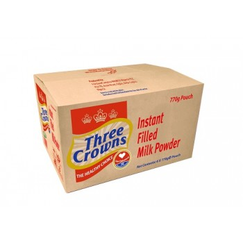 Three Crowns Powdered Milk 770g Pouch x 6 carton