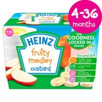 Heinz Fruit Medley Custard