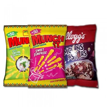 MUNCH IT AND MOONS & STARS (x 10each) 30 sachets