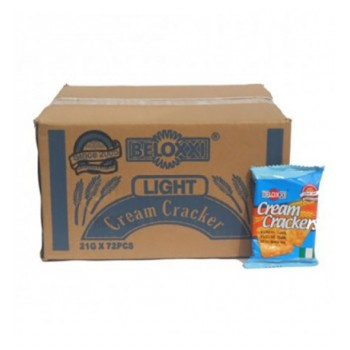 Beloxxi Cream Cracker Biscuit (Carton-72pcs)