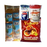 Breakfast Bundle Pack (Bean Flour, Sugar,3 x 10g Pap & Peak Milk 30g x 6)