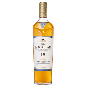 Macallan Whiskey Triple Cask Matured 15 Years Old (700ml)
