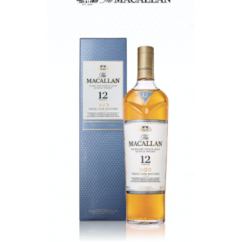 Macallan Whiskey Triple Cask Matured 12 Years Old (700ml)