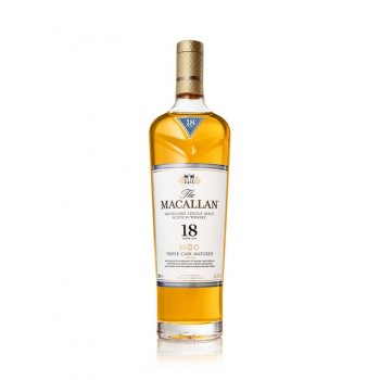 Macallan Whiskey Triple Cask Matured 18 Years Old (700ml)