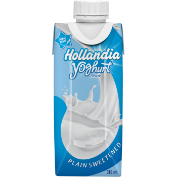 Hollandia Yoghurt Plain Sweetened 315ml