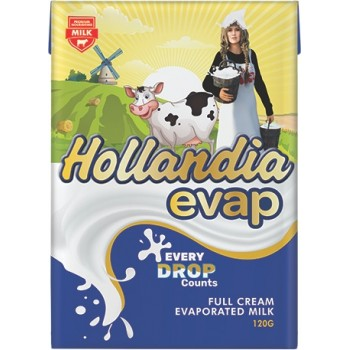 Hollandia Evap (Full Cream Evaporated Milk) 120g