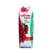 Chivita Real Red Grape 100% 1ltr