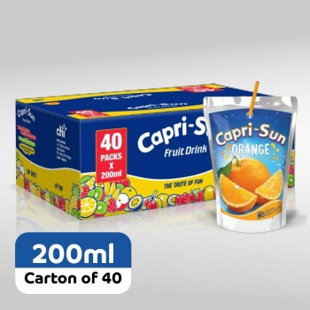 Capri-Sun Orange (200ml x 40)