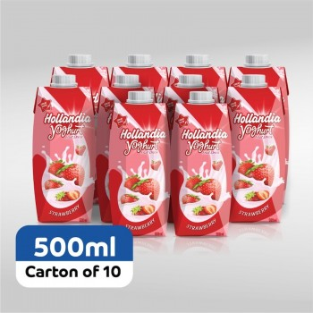 Hollandia Yoghurt Strawberry (500ml x 10)carton