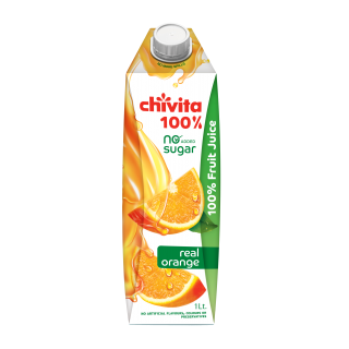 Chivita Real Orange 100% 1ltr