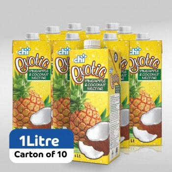 Chi Exotic Pineapple & Coconut Nectar 1ltr x 10 (Carton)