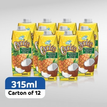 Chi Exotic Pineapple & Coconut Nectar 315ml x 12 (Carton)