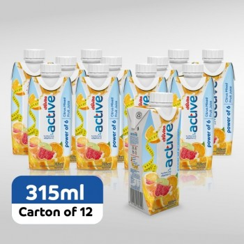 Chivita Active power of 6 citrus fruits 315ml x 12 (Carton)