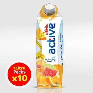 Chivita Active power of 6 citrus fruits 1ltr x 10 (Carton)