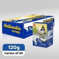 Hollandia Evap Full Cream Evaporated Milk  (120g x 24)carton
