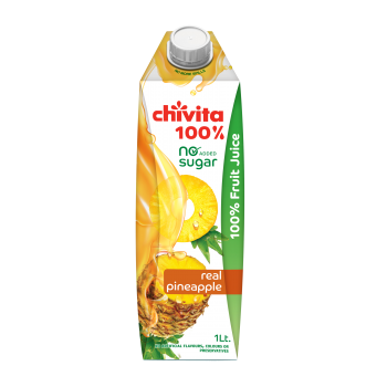 Chivita Real Pineapple 100% 1ltr