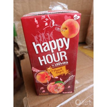 Happy Hour Juice (Peach Pop) 150ml x 24