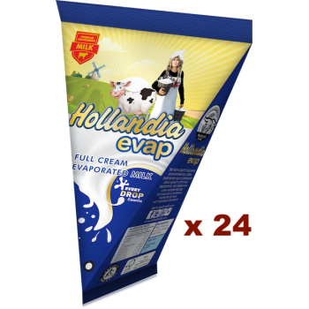 Hollandia Evap Full Cream Evaporated Milk (65g x 24pcs)