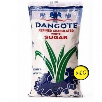 Dangote Sugar (1kg x 10) bag