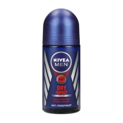 Nivea Dry Impact  Anti-Perspirant Deodorant roll-on (X6)