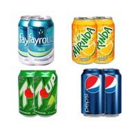 Bundle Of Can Drink (7up, Mirinda, Pepsi & Fayrouz)