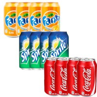 Bundle of  12pcs Can Drinks 3 in 1