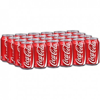 Coca Cola Can Drink  33cl x 24