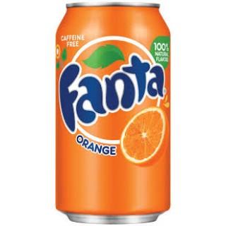Fanta Orange Can Drink  60cl x 12