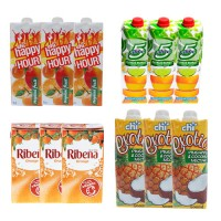 Fruit Juice Bundle (5alive, happy hour, Ribena & Chi Exoctic)