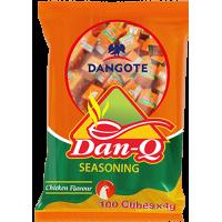 Dan Q seasoning -Chicken Flavour (4g x 25cubes x 2packs)