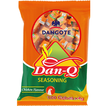 Dan Q seasoning -Chicken Flavour (4g x 25cubes x 2packs)