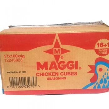 Maggi Chicken Cubes Carton 16 ( 100 x 4g )