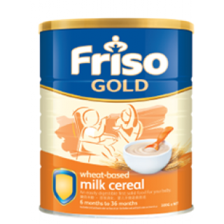 Friso Gold Cereal Wheat (300g x 6)half carton