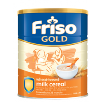 Friso Gold Cereal Wheat (300g x 3)