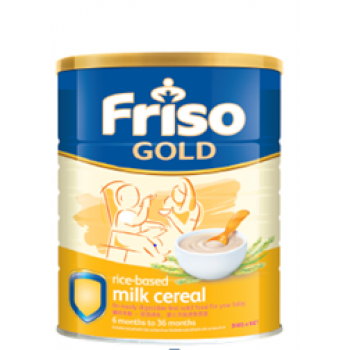 Friso Gold Cereal Rice (300g x 3)
