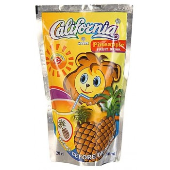 California Sun Pineapple (200ml x 40) carton