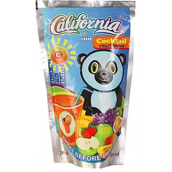 California Sun Cocktail  (200ml x 40) carton