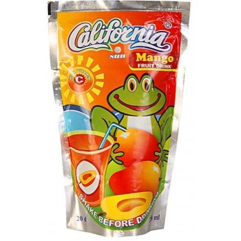 California Sun Mango (200ml x 40) carton