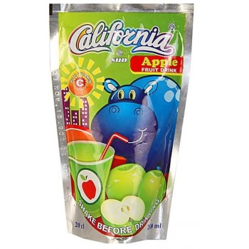 California Sun Apple  (200ml x 40) carton