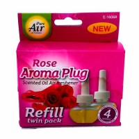 Pure Air Aroma Plug Refill Twin Pack (Rose)
