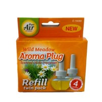 Pure Air Aroma Plug Scented Oil Air Freshener (Wild Meadow)