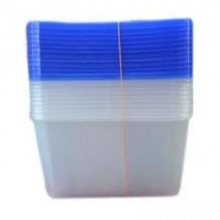 Plastic Food Pack (1000ml x 100)