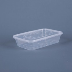 Plastic Food Pack (500ml x 50)