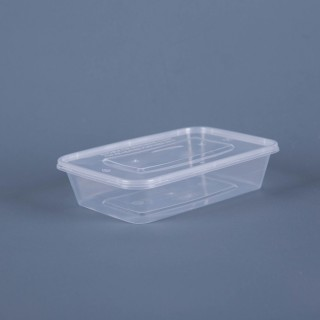 Plastic Food Pack (500ml x 100)