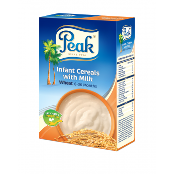 Peak Infant Cereals (Wheat) 250g x 6 (Half Ctn )
