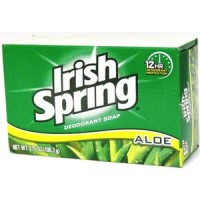 Irish Spring Soap Aloe (100g x 3 Bars Bundles)