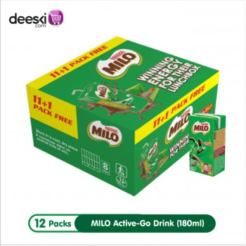 Milo Ready To Drink - MILO RTD (180ml x 12)carton