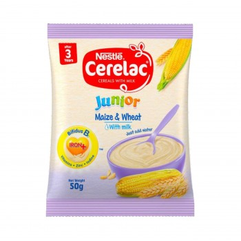 Cerelac Junior -Maize & Wheat with Milk (20 x 50g)