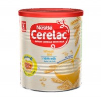 Cerelac Wheat with Milk (400g x 12) carton- Baby Cereals after 6months